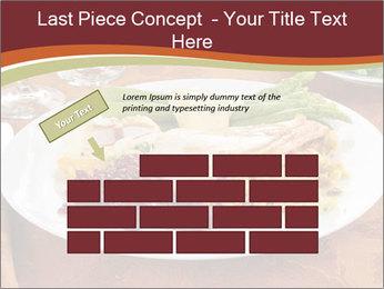 Turkey dinner PowerPoint Templates - Slide 46