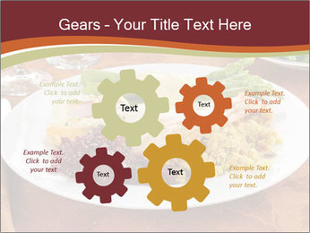 Turkey dinner PowerPoint Templates - Slide 47