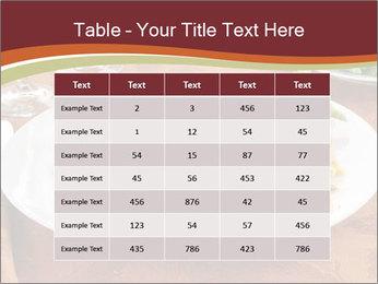 Turkey dinner PowerPoint Templates - Slide 55