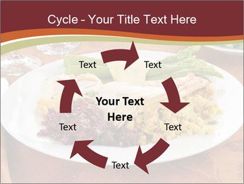 Turkey dinner PowerPoint Templates - Slide 62