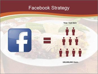 Turkey dinner PowerPoint Templates - Slide 7