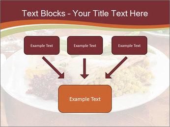 Turkey dinner PowerPoint Templates - Slide 70