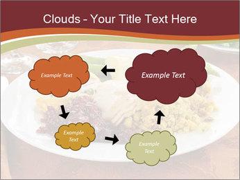 Turkey dinner PowerPoint Templates - Slide 72