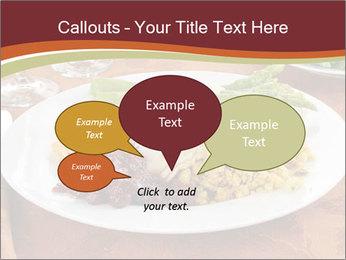 Turkey dinner PowerPoint Templates - Slide 73