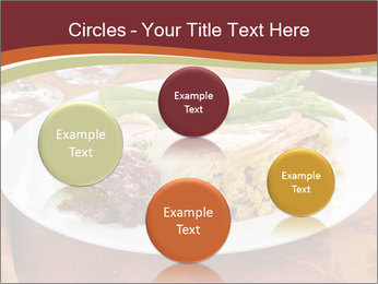 Turkey dinner PowerPoint Templates - Slide 77