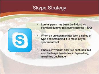 Turkey dinner PowerPoint Templates - Slide 8