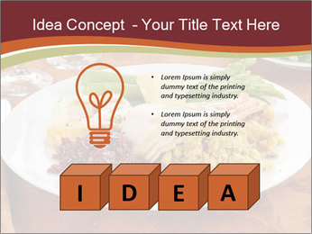 Turkey dinner PowerPoint Templates - Slide 80
