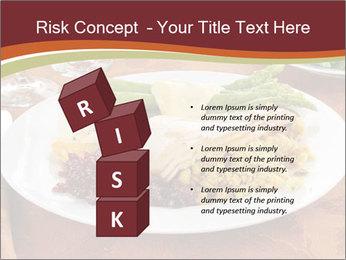 Turkey dinner PowerPoint Templates - Slide 81