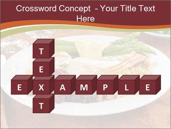 Turkey dinner PowerPoint Templates - Slide 82