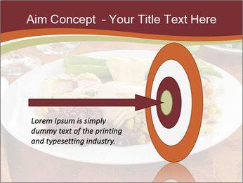 Turkey dinner PowerPoint Templates - Slide 83
