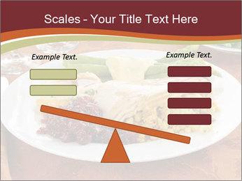 Turkey dinner PowerPoint Templates - Slide 89