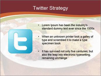 Turkey dinner PowerPoint Templates - Slide 9