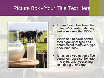 Milk on wooden plate PowerPoint Templates - Slide 13