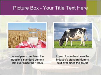Milk on wooden plate PowerPoint Templates - Slide 18