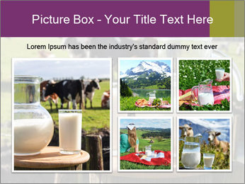 Milk on wooden plate PowerPoint Templates - Slide 19