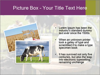 Milk on wooden plate PowerPoint Templates - Slide 20