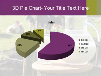 Milk on wooden plate PowerPoint Template - Slide 35