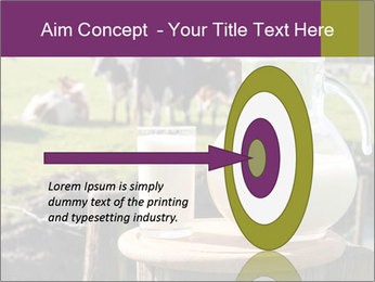 Milk on wooden plate PowerPoint Templates - Slide 83