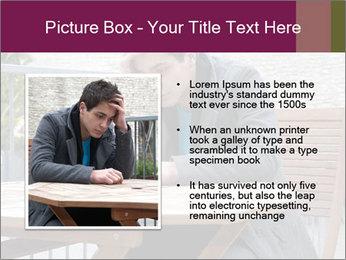 Guy waiting his girlfriend PowerPoint Templates - Slide 13