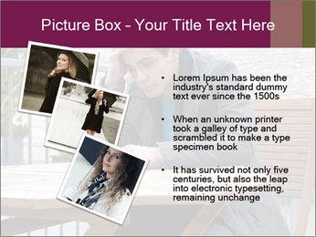 Guy waiting his girlfriend PowerPoint Templates - Slide 17