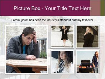 Guy waiting his girlfriend PowerPoint Templates - Slide 19