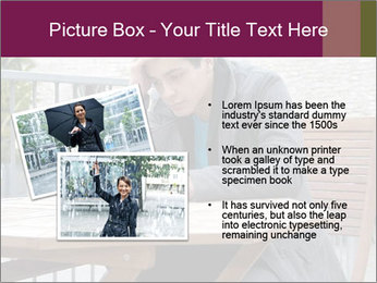 Guy waiting his girlfriend PowerPoint Templates - Slide 20