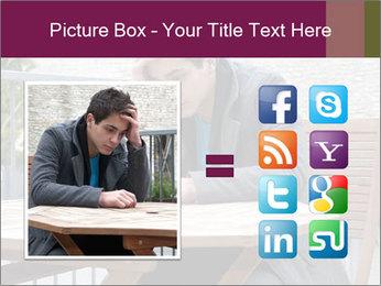 Guy waiting his girlfriend PowerPoint Templates - Slide 21