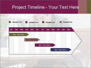 Guy waiting his girlfriend PowerPoint Templates - Slide 25
