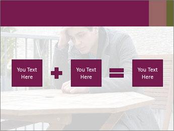 Guy waiting his girlfriend PowerPoint Templates - Slide 95