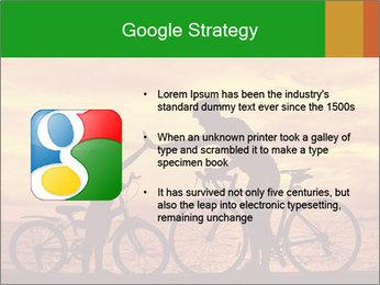Biker family silhouette PowerPoint Templates - Slide 10