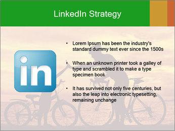 Biker family silhouette PowerPoint Templates - Slide 12