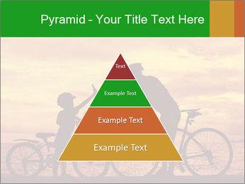 Biker family silhouette PowerPoint Templates - Slide 30
