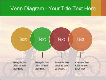 Biker family silhouette PowerPoint Templates - Slide 32