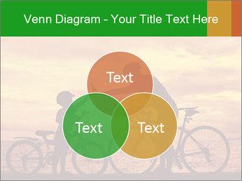 Biker family silhouette PowerPoint Templates - Slide 33