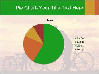Biker family silhouette PowerPoint Templates - Slide 36
