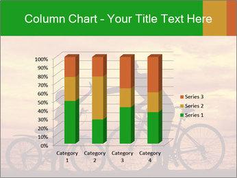 Biker family silhouette PowerPoint Templates - Slide 50
