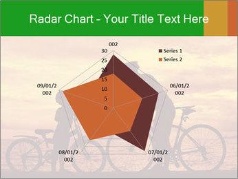 Biker family silhouette PowerPoint Templates - Slide 51