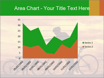 Biker family silhouette PowerPoint Templates - Slide 53