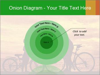 Biker family silhouette PowerPoint Templates - Slide 61