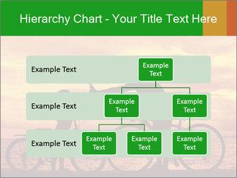 Biker family silhouette PowerPoint Templates - Slide 67