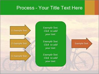 Biker family silhouette PowerPoint Templates - Slide 85