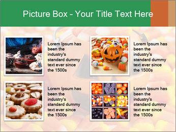 Halloween Candy Corn PowerPoint Template - Slide 14
