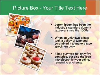 Halloween Candy Corn PowerPoint Template - Slide 17