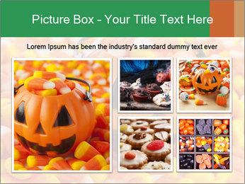 Halloween Candy Corn PowerPoint Template - Slide 19