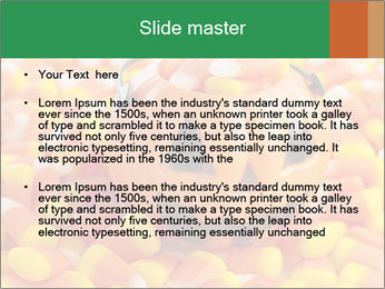 Halloween Candy Corn PowerPoint Template - Slide 2