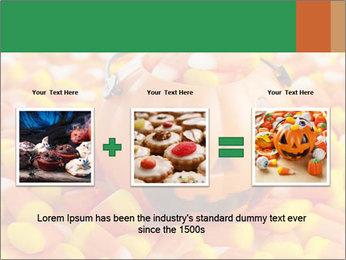 Halloween Candy Corn PowerPoint Template - Slide 22
