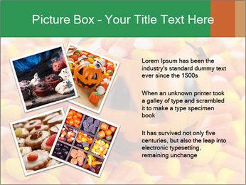 Halloween Candy Corn PowerPoint Template - Slide 23