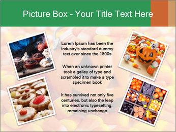 Halloween Candy Corn PowerPoint Template - Slide 24