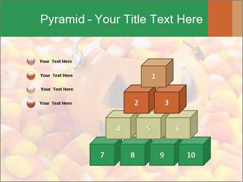Halloween Candy Corn PowerPoint Template - Slide 31