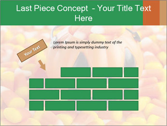 Halloween Candy Corn PowerPoint Template - Slide 46